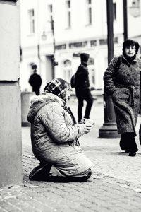 fotografia analogowa z ulic miasta