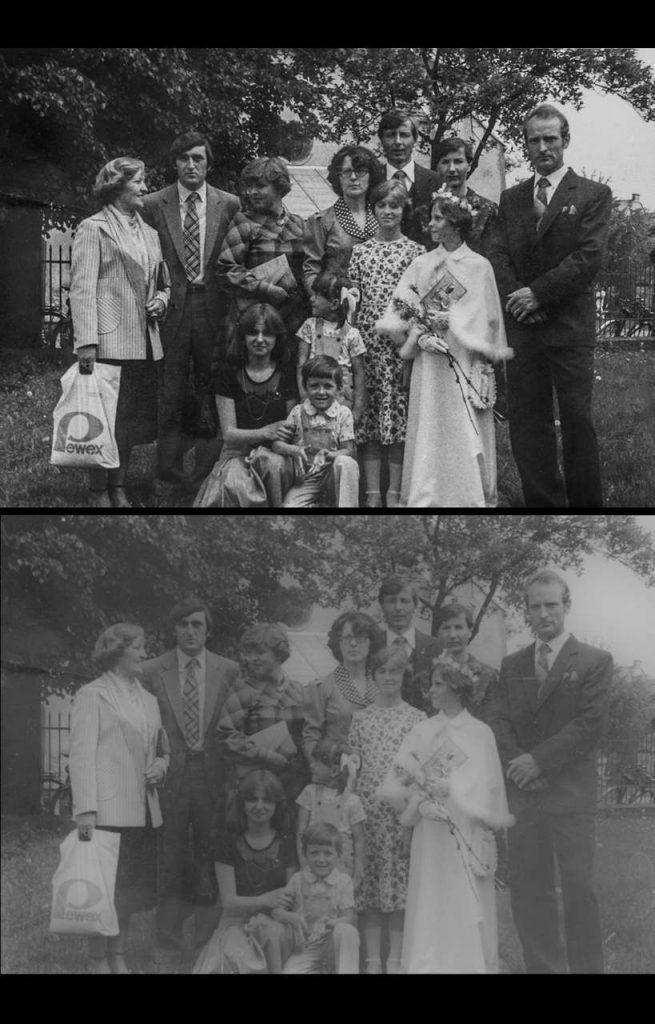 szybka renowacja starych zdjęć